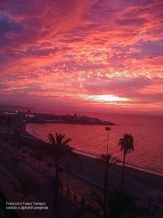 Amanecer en Fuengirola (Málaga) / Sunrise over Fuengirola (Málaga), by @Fuengirola Ayuntamiento