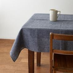 A thoughtful addition to your daily dining ritual, these long-lasting linen tablecloths will only get softer with each wash. Also great for picnics. small: W x L / x x-large: W x L / x (exclusive to SFL) linen machine wash gentle/dry cool or line-dry Linen Tablecloth, Table Linens, Tablecloths, Fog Linen, Brooklyn Apartment, Napkin Folding, Table Decorations, Picnics, Furniture