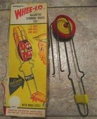 loved playing with my whee-lo.  I could get it going so fast that it would fly across the room...