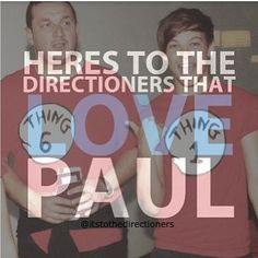 PAUL!!(: xx when I went to their concert they started talking to Paul and I was fangirling so hard!