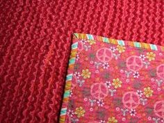 Mama Spark's World: How To Make A Chenille Blanket Tutorial: easy rag type quilt Quilting Tutorials, Quilting Projects, Quilting Designs, Sewing Projects, Quilting Tips, Sewing Hacks, Sewing Crafts, Sewing Ideas, Sewing Blogs