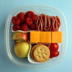 Truly hoping I'll be able to teach my kids healthy eating can be fun! Bento lunch.