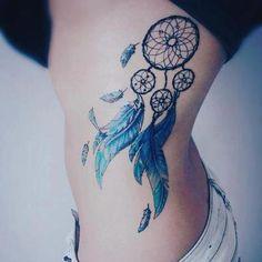 Dream catcher Tattoo. Ideas for hiding my nephrectomy scar. more at http://tattoo-advisor.com/