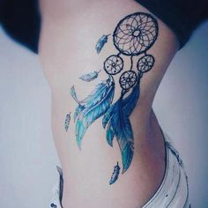 Dream catcher Tattoo. Ideas for hiding my nephrectomy scar. more at http://tattoo-advisor.com/