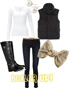 """Purdue Tailgate"" by pwidener on Polyvore"