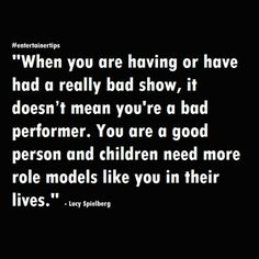 "#entertainertips ""When you are having or have had a really bad show, it doesn't mean you're a bad performer. You are a good person and children need more role models like you in their lives."" - Lucy Spielberg ***************************************** Kevin Bethea – Corporate Magician & Illusionist www.ktbmagic.com For Booking Availability, Call (856) 728-8733  #kevinbethea #magician #illusionist #NewJersey #corporatemagiciannewjersey #worldclassmagician #corporateillusionist #tradeshows…"
