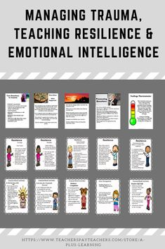 This resource includes 4 of our resources. These resources could help your students cope and adjust to difficult events and situations such as trauma and manage their emotions better. New School Year, Back To School, School Stuff, Classroom Organization, Classroom Management, School Resources, Classroom Resources, All Schools, Mindfulness Activities