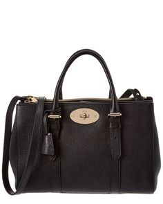 Spotted this Mulberry Bayswater Small Double Zip Grain Leather Tote on Rue La La. Shop (quickly!).