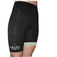Anti-Cellulite Bio-Ceramic Exercise Shorts by Delfin Spa -Size Medium: fitness shorts