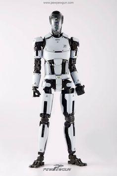PEW PEW GUN More robots here.