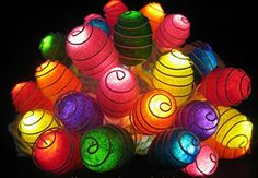 Fund 20 Led Natural Silk Cocoons Lights Set Lighting String Wire Lamp White Color Home Decoration Patio Living Room Yard  Garden Indoor and Outdoor of Birthday colorful *** Click on the image for additional details. (Note:Amazon affiliate link)