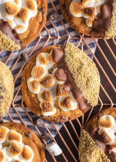These Easy Smore Cookies are a favorite at our house for Christmas.