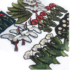 Embroidered Patches | Ellie Mac Embroidery More