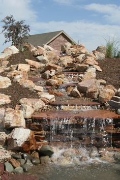 Big water features or little water features, anything to fit you needs
