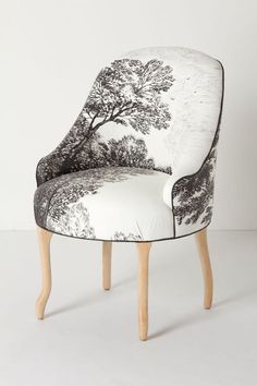 .hand painted chair/ Molly Hatch