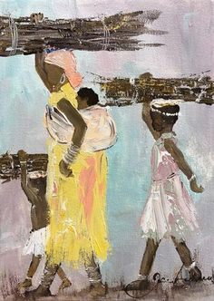 South African Artist Jen Adam is best known for her African oil paintings and African portrait artworks. Abstract Art Painting, Art Painting, Artist, Fabric Painting, Painting, Impressionist Paintings, South African Art, Art And Architecture, South African Artists