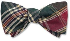 Plaid Bow Tie. My husband is going to wear a bow tie for our wedding whether he wants to or not. actually, he'll want to. because he will love me enough xD
