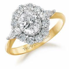 24cfa4400 Perfect Princess Ring Price: £189 EASY-PAY* 3 x £63.00 Tru-Diamonds on the  shoulder lend this stunning cluster-style ring feminine softness!