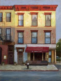 ۩۩ Painting the Town ۩۩ city, town, village & house art - Paul Schulenburg
