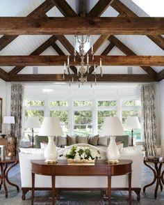 "131 Likes, 8 Comments - Natasha Kalita Design (@natashakalitadesign) on Instagram: ""What a ceiling!  A perfect summer room. _____________________________________ #interiordesign…"""