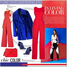 The Art of Chic with BCBGMAXAZRIA: Contest Entry by cruzeirodotejo on Polyvore featuring BCBGMAXAZRIA