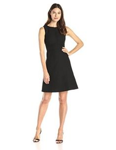 c0f109c7574f3 Calvin Klein Women s Jaquard Fit and Flare Dress
