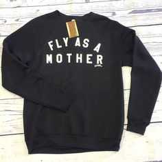 Fly as a Mother // - S-2XL by LittleUptownKids on Etsy