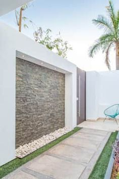 21 New Ideas Exterior Wall Garden Patio Tor Design, House Design, Path Design, Backyard Patio, Backyard Landscaping, Landscaping Ideas, Pergola Patio, Patio Privacy, Backyard Ideas