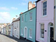 Colourful cottages of Appledore