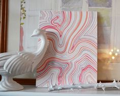 I love the colors...http://www.thelennoxx.com/browse-by-color/peach-browse-by-color/my-peach-and-pink-painting/
