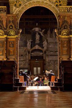 Paolo Fresu & Daniele Di Bonaventura - Musica ai Frari, Basilica di Santa Maria Gloriosa dei Frari, Venezia, Italia.