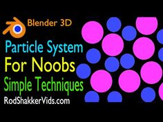blender 2.77 Particle System for Beginners Basic