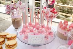 Wonderfully modern and beautiful Beside the Seaside birthday party idea for little girls- Great idea in the summer