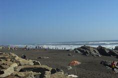 Iloca, Región del Maule. Playa de baño.