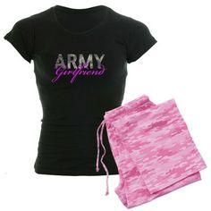 ACU Army Girlfriend Women's Dark Pajamas