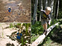 so cute!! take photos of boys toys out on our adventures