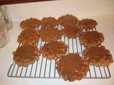 Turtle Waffle Cookies - Used to make these as a kid.  Loved them!   A little harder to make with the newer waffle irons nowadays.