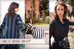 Diana Wrap Giveaway going on over at www.evystree.com/blog