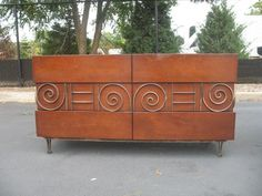 Los Angeles: Edmund Spence Buffet Cabinet Chest and Nightstands $6500 - http://furnishlyst.com/listings/1095418