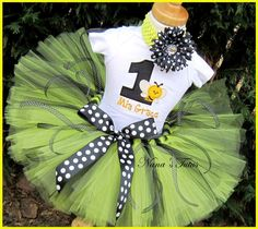 Birthday Bumble with NumberParty Outfit  Theme by Nanastutus