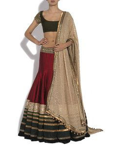 Manish Malhotra lehenga. simple elegant, not much work