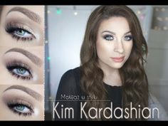 • Makijaż w stylu Kim Kardashian • - YouTube Magic Dust, Kim Kardashian, Celebrity Makeup, Beverly Hills, Pixie, Eyeliner, Make Up, Celebrities, Tutorials