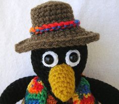 CHARLIE THE CROW Pdf Crochet Pattern by bvoe668 on Etsy