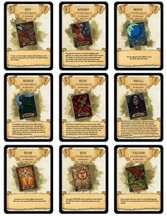 25 Best Dnd Cards Images Dungeons Dragons Homebrew D Amp D
