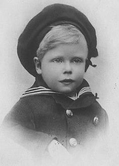 Prince Edward of York at about 3 or 4 years old.