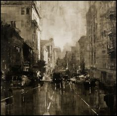INTO THE VAGUE: Painted Cityscapes by Jeremy Mann