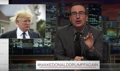 John Oliver Demolishes 'Serial Liar' Donald Drumpf This video is gold. Donald Drumpf will not be the next President and Commander in Chief of the United States.