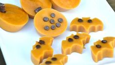 Try out this creative, simple recipe for a tasty Halloween candy alternative - Pumpkin Pie flavored gummies made with yogurt.