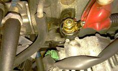 Alternator Replacement Subaru WRX/STi: Remove the nut and green clip. #subaru #subaruidiots #WRX #STi #Turbo #Impreza #Boost #alternator #DIY