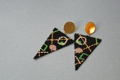 Seed Bead Jewelry, Seed Bead Earrings, Fringe Earrings, Beaded Earrings, Beaded Jewelry, Statement Jewelry, Seed Beads, Custom Jewelry, Diy Jewelry